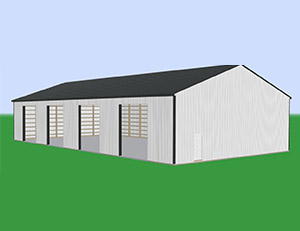 Commercial Most Popular Pole Barn