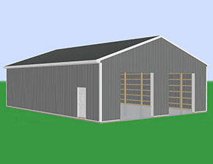 Medium Most Popular Pole Barn