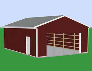 Pole barn kits prices diy pole barns for 16 x 10 garage door cost