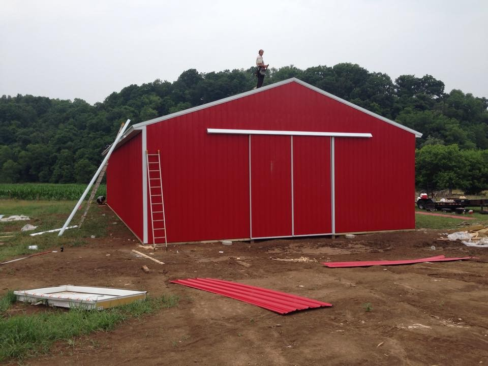 Ventilation For Pole Building : Adding horse barn ventilation diy pole barns ohio