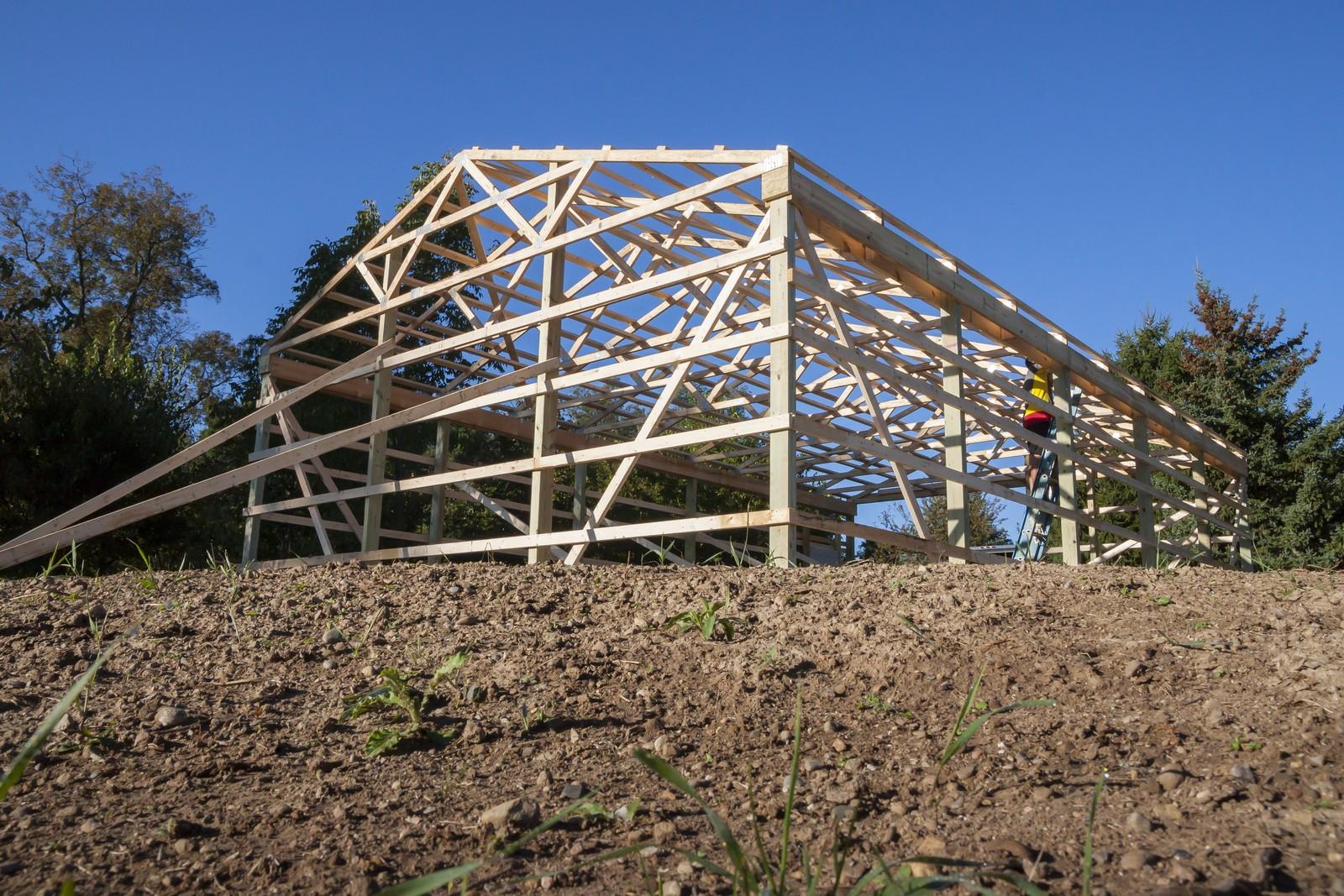 The Pole Barn Construction Process DIY Pole Barns