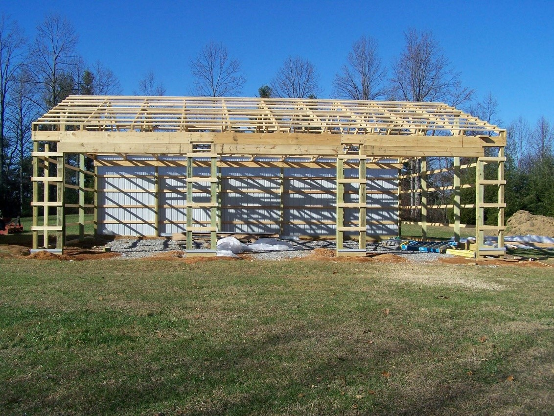 Protect Pole Barn Posts Amp Structure From Rot Diy Pole Barns