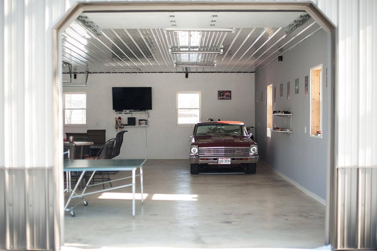 Post Frame Garage For Classic Cars Diy Pole Barns